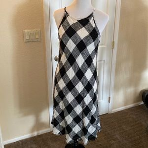 Philosophy Black and White Linen dress